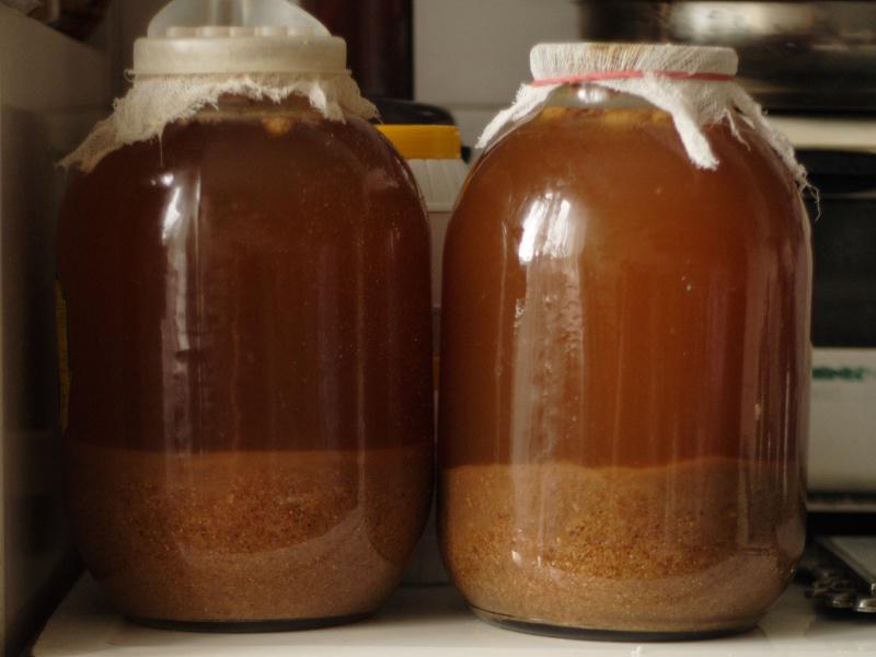 Kvas Recipe (Russian fermented rye beverage)