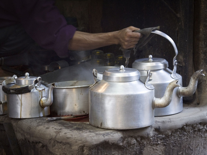 Brewing masala chai