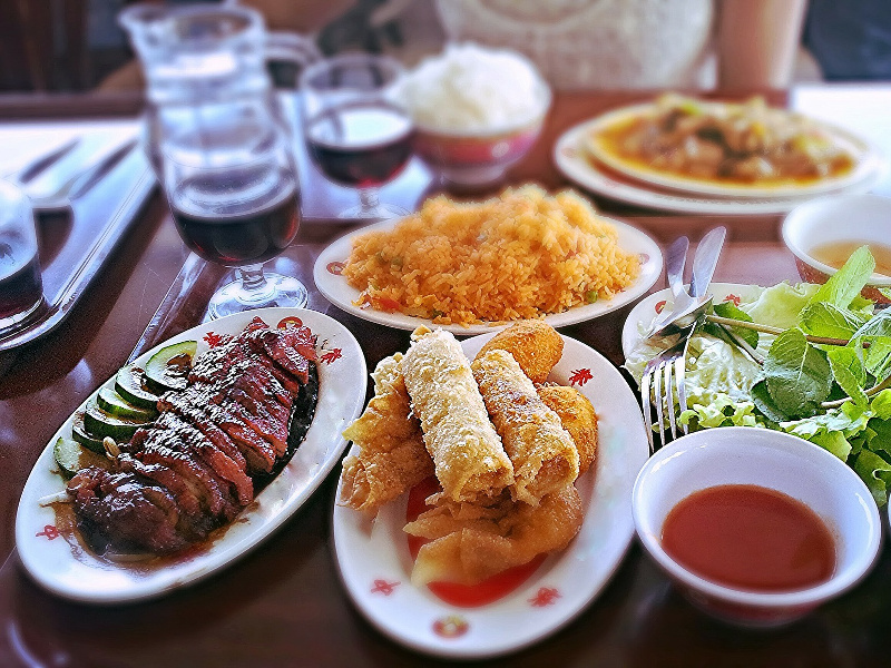 Asian meal