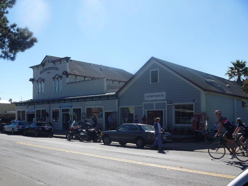 Point Reyes Station street scene