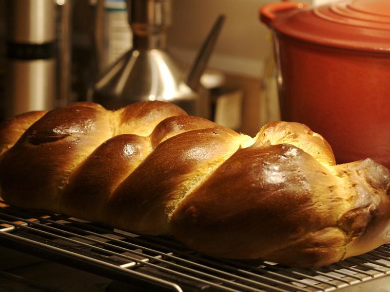 Challah (Jewish braided Sabbath bread)