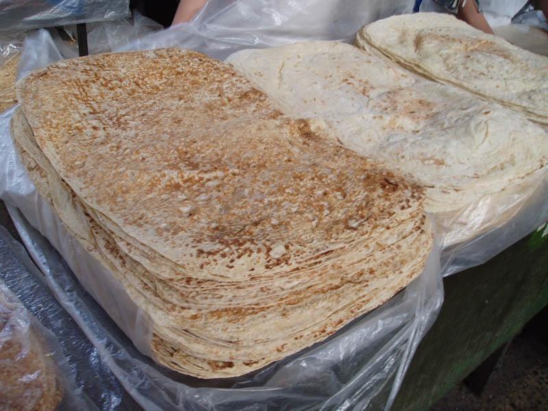 Lavash (Southwest Asian thin flatbread)