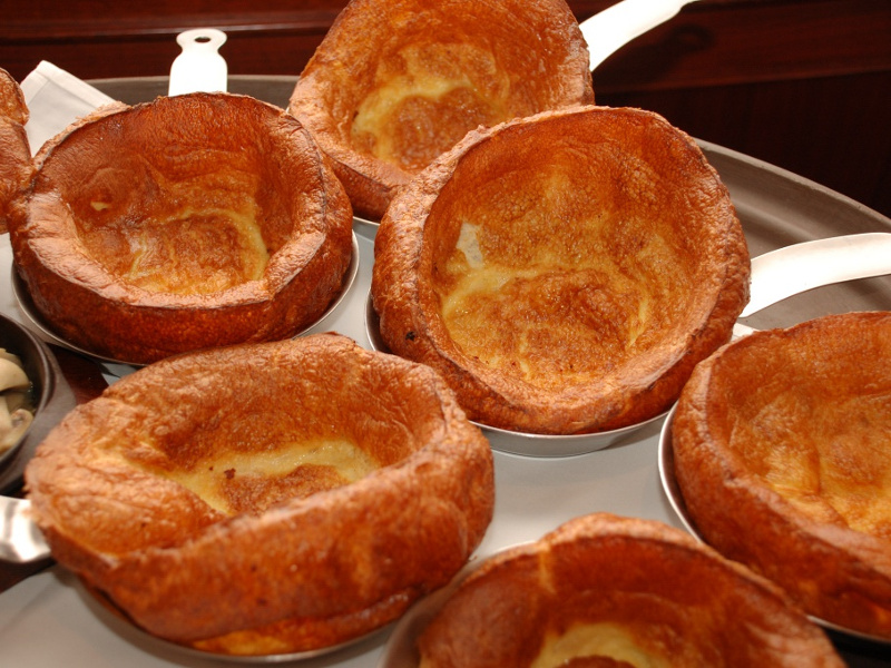 Yorkshire Pudding For 2 >> Yorkshire Pudding Recipe (English savory puff pudding) | Whats4eats