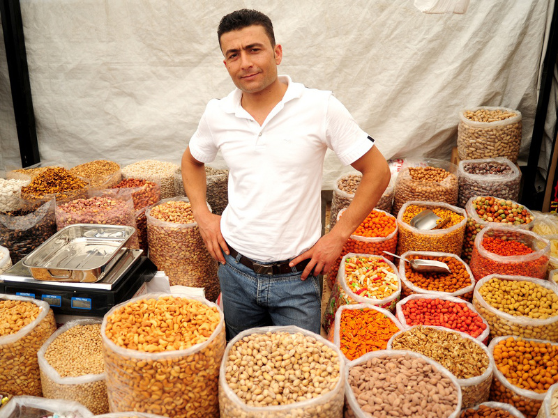 Dry goods vendor, Lebanon