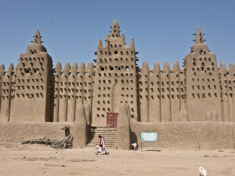 Great Mosque of Djenné in Mali