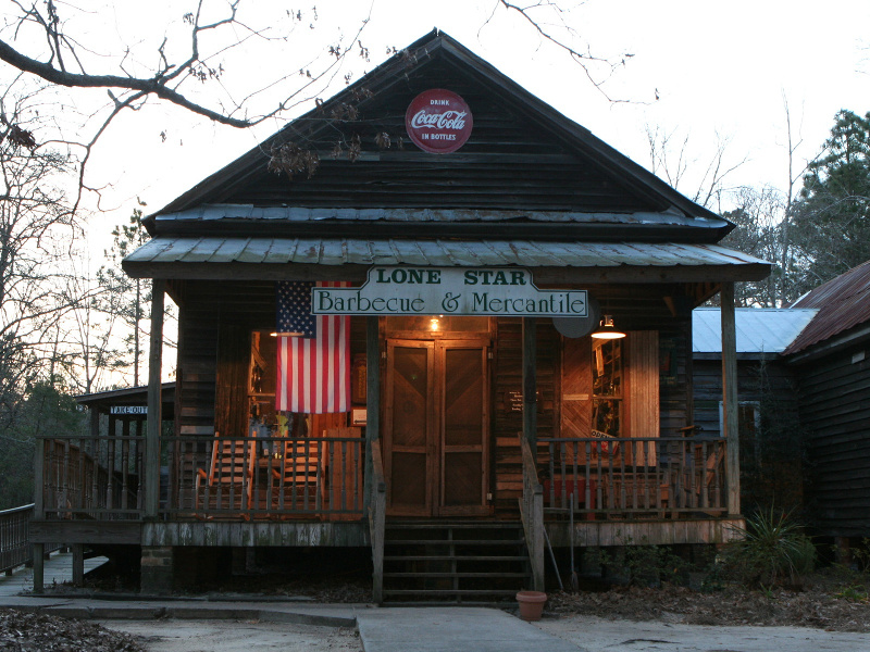 South Carolina BBQ shack