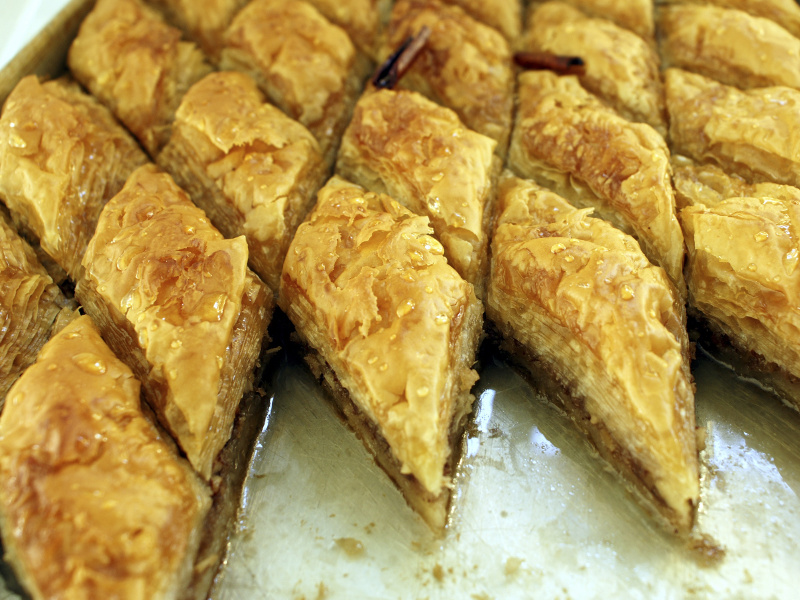 Baklava Recipe Eastern Mediterranean Nut And Phyllo Sweet Pastry Whats4eats