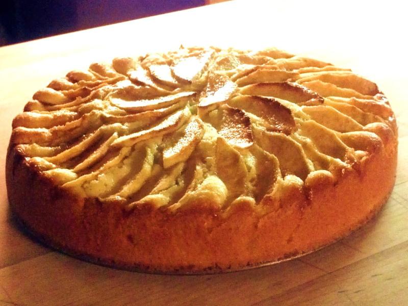Torta Rustica de Mele (Italian rustic apple cake)