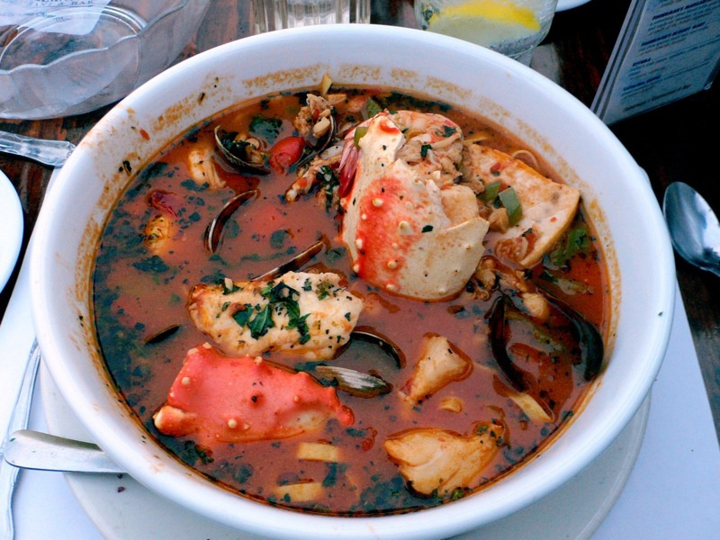 Cioppino (American West Coast fish and seafood stew)