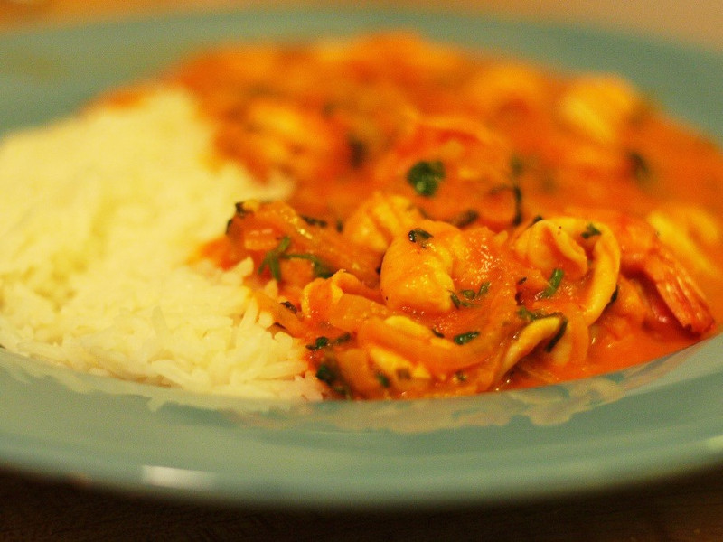 Moqueca Brazilian fish and coconut milk stew