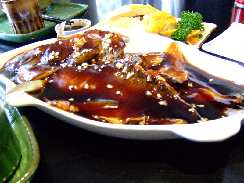 Xihu Cu Yu (Chinese West Lake vinegar fish)