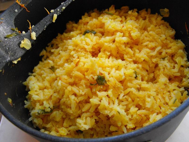 Arroz a la mexicana Mexican tomato rice