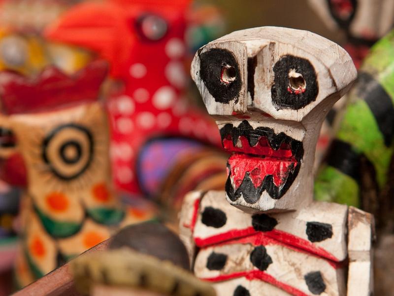Dia de los muertos skeleton