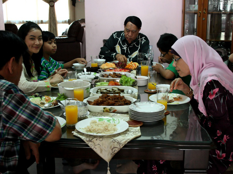 Eid al-Fitr Family Meal