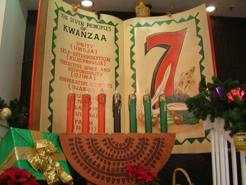 Seven principles of Kwanzaa