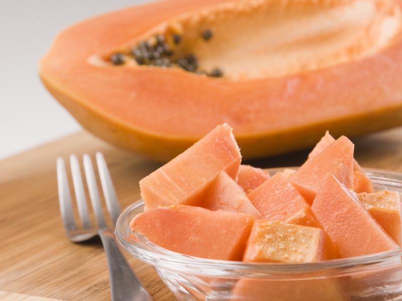Pawpaw Chutney (Caribbean papaya preserves)