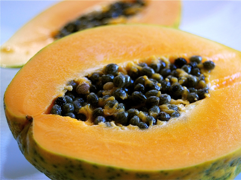 Papaya Pie (Caribbean papaya-filled tart)