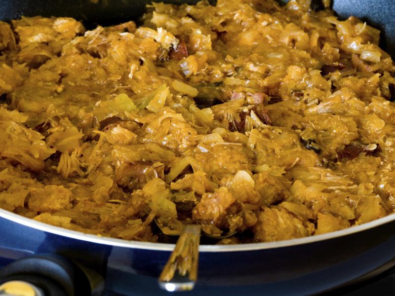 Bigos (Polish hunter-style-stew)