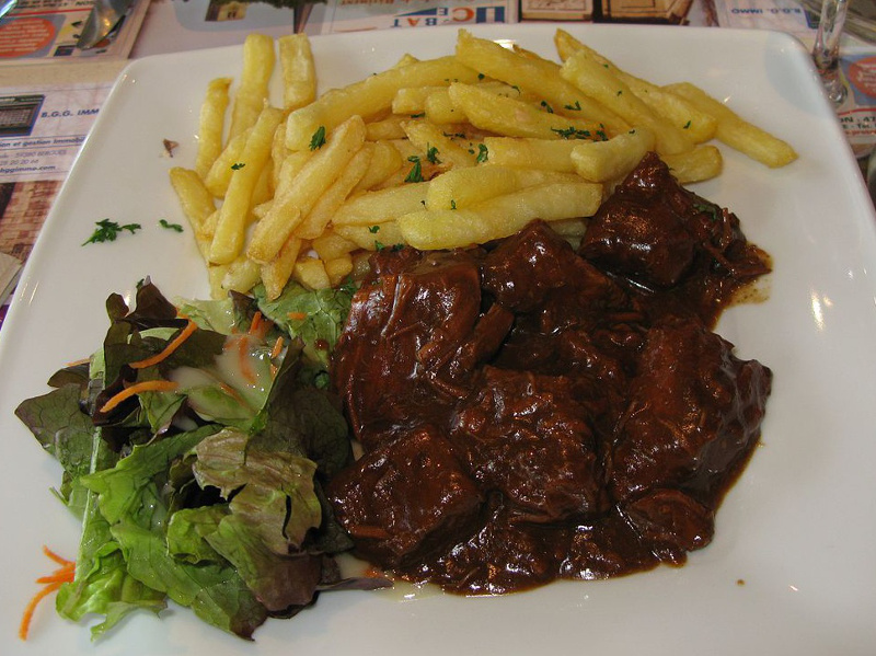 Carbonade Flamande (Belgian beef and beer stew)