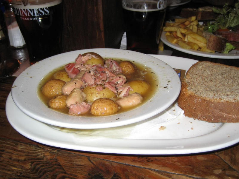Bowl of Dublin coddle