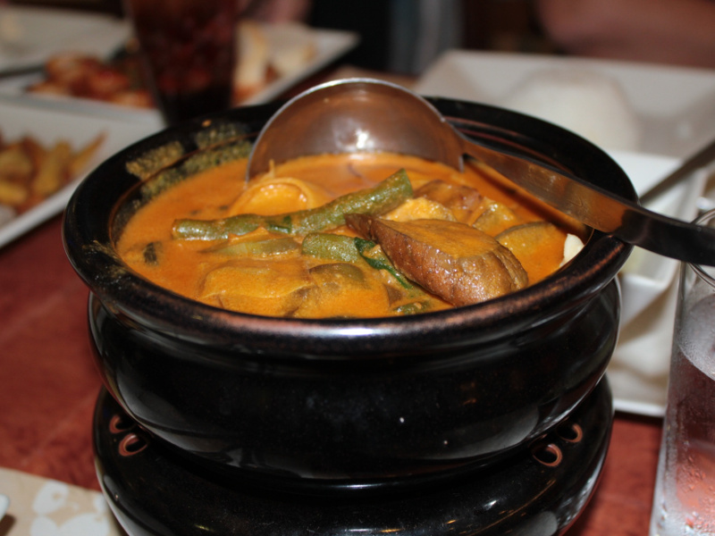 Kare Kare (Filipino meat and vegetable stew)