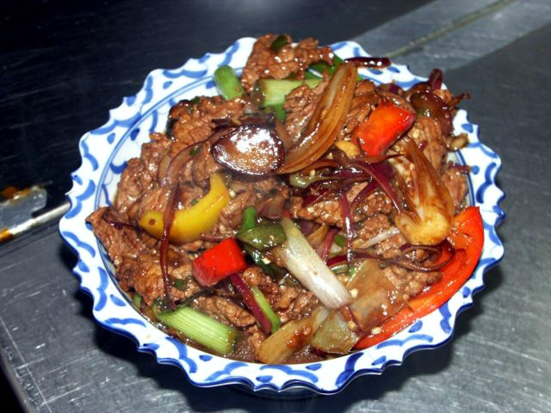 Thai pepper beef