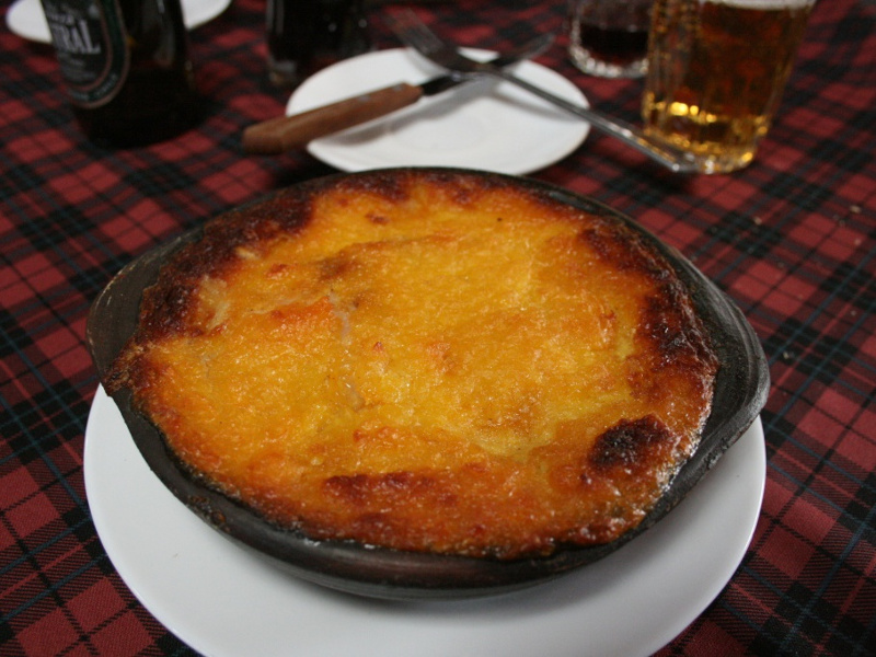 Pastel de choclo Chilean ground beef casserole