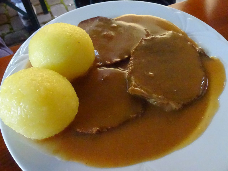 Sauerbraten (German marinated beef pot roast)