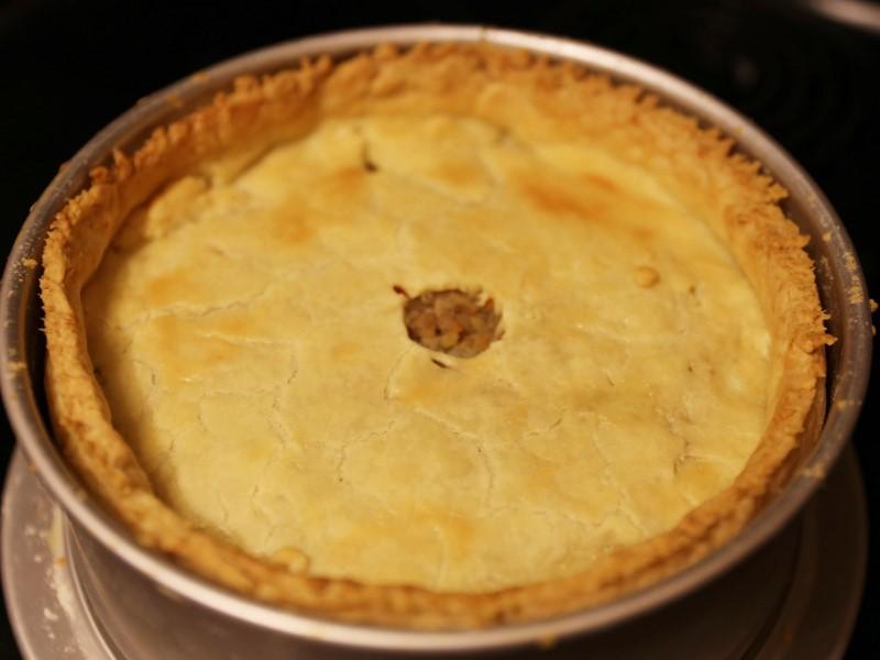 Tourtière (French Canadian pork pie)