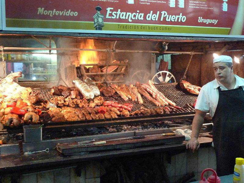 Barbecue parilla in Montevideo, Uruguay