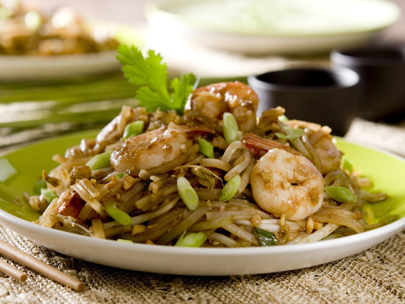Pad Thai Recipe Thai Stir Fried Rice Noodles Whats4eats