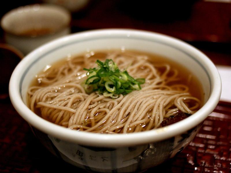 Toshikoshi Soba (Japanese New Year soba noodles)
