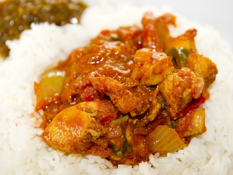 Murgh dopiaza Indian chicken curry with onions