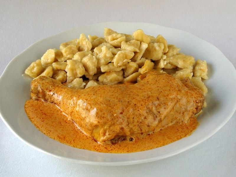 Paprikas csirke Hungarian paprika chicken