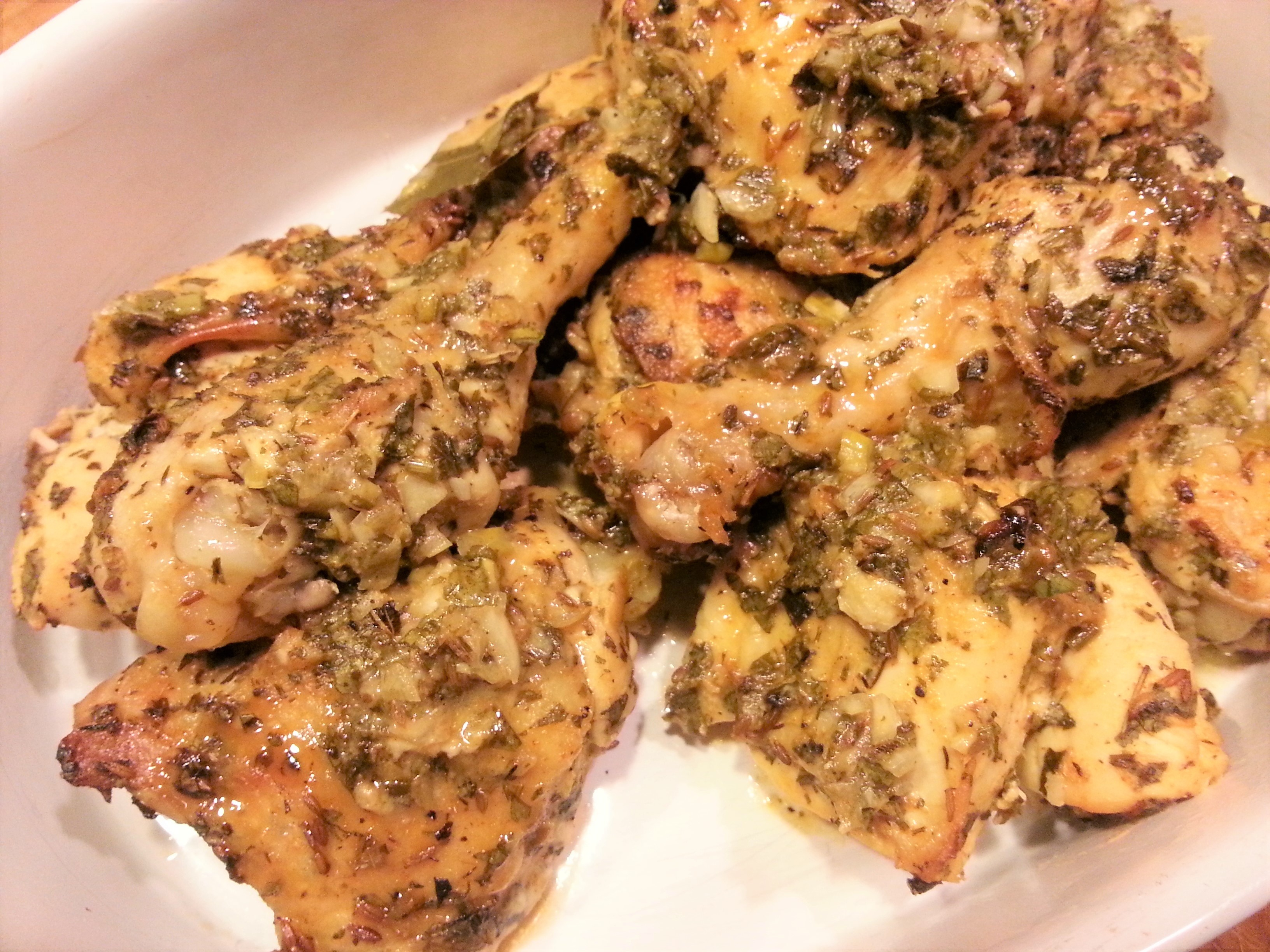 Pollo Asado Colombiano (Colombian roast chicken)