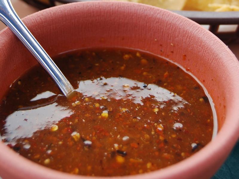 Salsa Roja (Salvadoran tomato sauce)