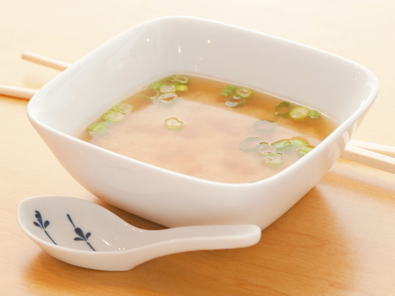 Japanese dashi soup stock