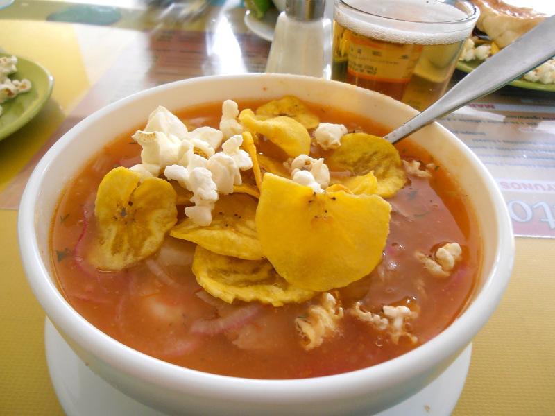 Encebollado Ecuatoriano (Ecuadorian fish and onion stew)
