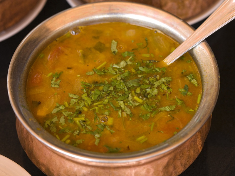 Sambar (Indian spicy lentil stew)