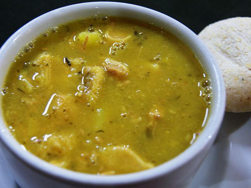 Sopa de mondongo (Latin tripe soup)