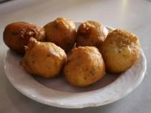Plate of bunuelos