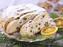 Dresdner Stollen (German Christmas fruitcake)