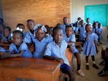 Haitian schoolchildren
