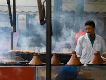 Tagine vendor in Morocco