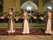 Uzbek women dancing