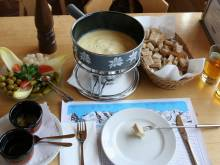 Full cheese fondue set