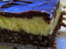 Nanaimo Bars (Canadian layered chocolate and custard bars)
