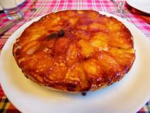 Tarte Tatin (French caramelized apple tart)