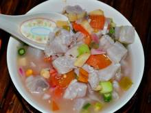 Kinilaw Filipino vinegar-marinated fish