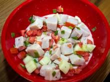 Bowl of Tahitian poisson cru